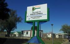 SA border post with Lesotho. Picture: Wikipedia.