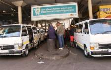FILE: The Noord Taxi Rank in the Johannesburg CDB. Picture: EWN