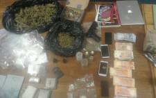 Drug bust. Picture: SAPS.