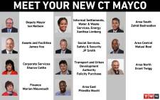 The City of Cape Town's new mayoral committee was announced by Mayor Dan Plato on 11 November 2018. Picture: Cindy Archillies/EWN
