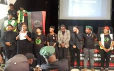 Black First Land First on 6 April 2019 launched its elections manifesto in Orlando East, Soweto ahead of the 8 May general elections. Picture: @BLF_SouthAfrica/Twitter