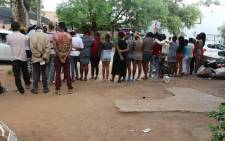 FILE: Police arrested 19 men in Klerksdorp after they discovered a brothel where 26 women were rescued. Picture: SAPS