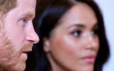 In this file photo taken on in October 2019 Britain's Prince Harry, Duke of Sussex, and Britain's Meghan, Duchess of Sussex, attend the annual WellChild Awards in London. Picture: AFP