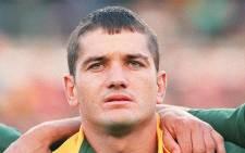Springbok legend Joost van der Westhuizen. Picture: AFP