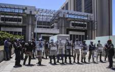 FILE: Cape Town's Civic Centre was locked down after a group of MyCiTi protesters staged a protest. Picture: Cindy Archillies/EWN