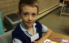 At Laerskool van Riebeeckpark Primary. Picture: Twitter @Stryelle.