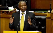 Deputy President David Mabuza responds to Oral Questions in the National Assembly in Parliament, Cape Town, 30 Aug 2018. Picture: GCIS.