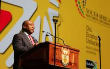 President Cyril Ramaphosa addresses the 3rd SA Investment Conference on 18 November 2020. Picture: @GovernmentZA/Twitter