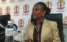 Public Protector advocate Busisiwe Mkhwebane. Picture: Gia Nicolaides/EWN.