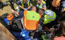 Paramedics rescued a newborn girl from a drain in Newlands East, Durban on 11 February 2019. Picture: Rescue Care