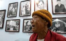 Truong Thi Tri, 76, visits the memorial museum for victims of the My Lai massacre in Son My village in Quang Ngai province on 15 March, 2018. Picture: AFP.