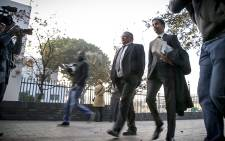 Lamoer & his co-accused face 109 charges including corruption and racketeering. Picture: Thomas Holder/EWN.