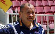 FILE: The 55-year-old former Australia and Japan coach replaces Stuart Lancaster, who stepped down in the wake of the hosts' pool-stage exit from the World Cup.