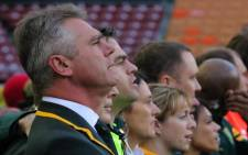 LEADING MAN: Springbok coach Heyneke Meyer has named his 31-man squad which will compete at the 2015 Rugby World Cup in England.