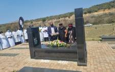 The family and friends of Steve Biko friends held the annual commemoration of his passing at his gravesite in Ginsberg, Eastern Cape, on 2 September 2021. Picture: Steve Biko Foundation.