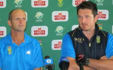 Proteas coach Gary Kirsten and captain Graeme Smith. Picture: Alicia Pillay/EWN
