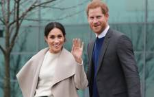Prince Harry and his fiancee, actress and humanitarian Meghan Markle. Picture: @KensingtonRoyal/Twitter