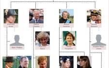 Royal family tree. Picture: Landi Groenewalt/EWN.