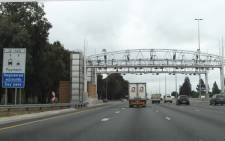 An e-toll gantry on the N1 Highway in Johannesburg. Picture: EWN
