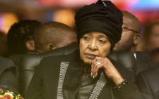 FILE: Winnie Madikizela-Mandela at Nelson Mandela's memorial service at the FNB Stadium in Johannesburg on 10 December 2013. Picture: Pool.