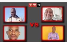 Top left: Loyiso Ntabeni (EFF), top right: Vuyani Ntabeni (Independent), bottom left: Siphamandla Ntabeni (ANC) and bottom right: Luyolo Ntabeni (AIC). Picture: Eyewitness News.
