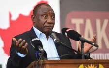Deputy President Cyril Ramaphosa addressing the multi-stakeholder dialogue meeting in Soshanguve. Picture: GCIS.