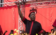 EFF leader Julius Malema at the party's manifesto launch on 26 September 2021. Picture: Xanderleigh Dookey Makhaza/Eyewitness News