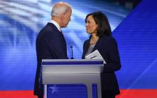 FILE: Joe Biden named Kamala Harris, a high-profile black senator from California, as his vice presidential choice on August 11, 2020, capping a months-long search for a Democratic partner to challenge President Donald Trump in November. Picture: AFP