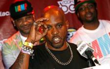 FILE: Rapper DMX whose real name is Earl Simmons. Picture: AFP.