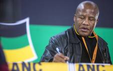 FILE: ANC chief whip Jackson Mthembu at a communications briefing at the ANC national policy conference on 5 July 2017. Picture: Thomas Holder/EWN