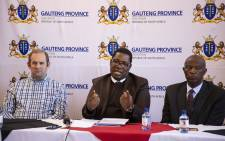 Gauteng Education MEC Panyaza Lesufi addressing the media on allegations of racism, sexual misconduct and assault against some teachers at Parktown Boys. Picture: Ihsaan Haffejee/EWN