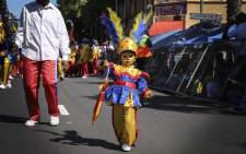 A young member of the Kensington All Stars Troupe. Picture: Cindy Archillies/EWN