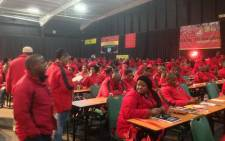 Delegates at day two of Cosatu's Special National Congress in Midrand on 14 July 2015. Picture: Govan Whittles/EWN.