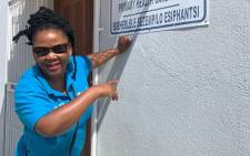 Western Cape Health MEC Nomafrench Mbombo. Picture: @nomafrench/Twitter