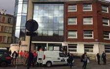 Around 30 people were treated for shock at this hospital following this morning's raid in Paris. Picture: Leanne de Bassompierre/EWN.