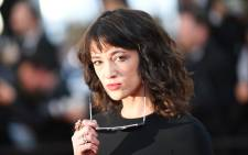 Italian actress Asia Argento. Picture: AFP