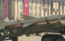 FILE: North Korea has successfully conducted a missile launch. Picture: Supplied/EWN.
