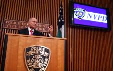 New York Police Commissioner Raymond Kelly. Picture: AFP