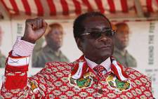 Zimbabwean president Robert Mugabe at a campaign Rally in Harare, Zimbabwe. Picture: Taurai Maduna/Eyewitness News
