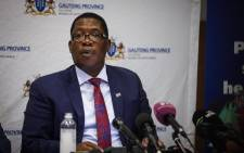 FILE: Gauteng Education MEC Panyaza Lesufi addresses the media on the state of readiness of the reopening of schools.