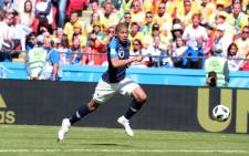 France's Kylian Mbappe during his team's World Cup clash against Argentina. Picture: @equipedefrance/Twitter.