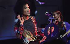 "Prince performs onstage with 3RDEYEGIRL during their ""HITnRUN"" tour at Sony Centre For The Performing Arts on 19 May, 2015 in Toronto, Canada. Picture: AFP."