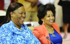 FILE: Minister Naledi Pandor (L) emphasised the need for better skilled artisans and professionals in the country. Picture: GCIS.