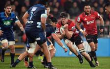 The Blues and the Crusaders in action during their Super Rugby match on 25 May 2019. Picture: @SuperRugbyNZ/Twitter