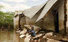 Flash floods caused by days of torrential rain have swept away roads and bridges, destroyed thousands of hectares of crops and raised fears of a cholera outbreak in the southern half of the country. Picture: Twitter @MalawiUNICEF.