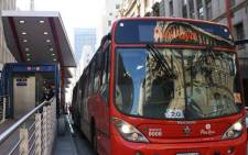 FILE: A Rea Vaya bus. Picture: reavaya.org.za