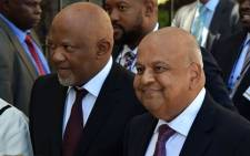 Deputy Finance Minister Mcebisi Jonas and Finance Minister Pravin Gordhan ahead of the 2017 Budget speech in Parliament on 22 February 2017. Picture: GCIS.