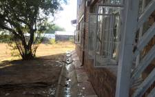 Pupils vandalised of the administration building at Orlando High School. Picture: Masa Kekana/EWN.