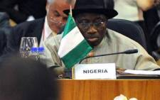 Nigeria President Goodluck Jonathan. Picture: AFP.