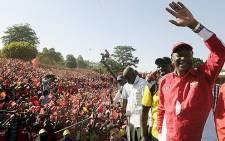 Newly elected Kenyan President Uhuru Kenyatta. Picture: AFP